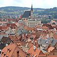 オーストリア、チェスキークロムロフの街