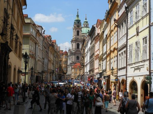 プラハ、カレル通り