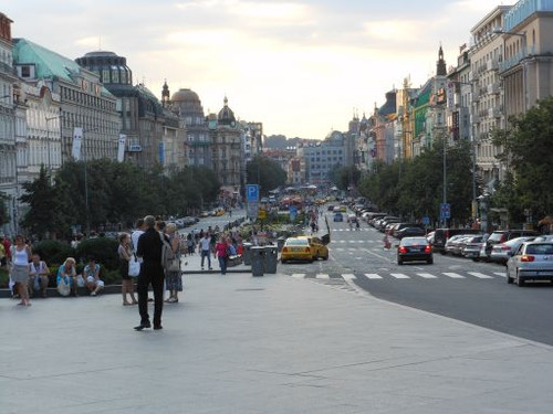 プラハ、ヴァーツラフ広場