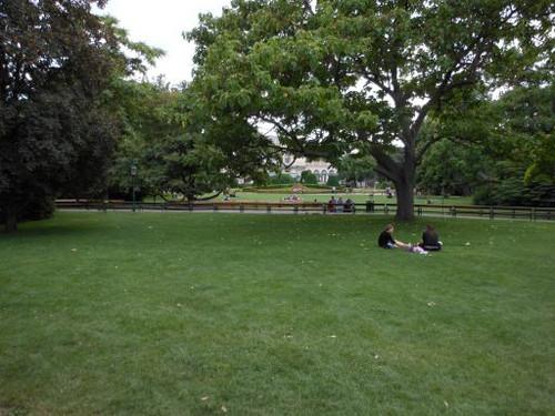 ウィーン、市立庭園