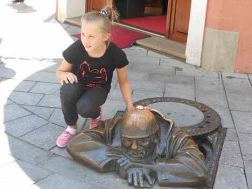 ブラチスラヴァ、旧市街にて