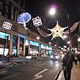 夜のロンドン街角