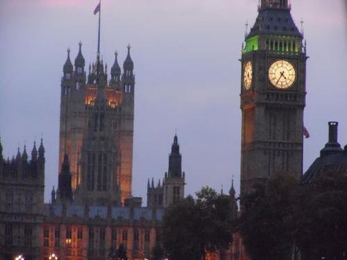 ロンドン・国会議事堂