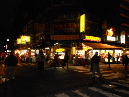 台北龍山寺夜市