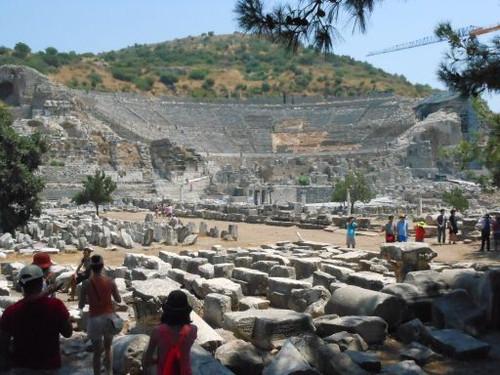 エフェソスの劇場遺跡